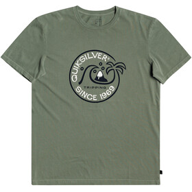 Quiksilver Into The Wild SS Tee Men, blue spruce